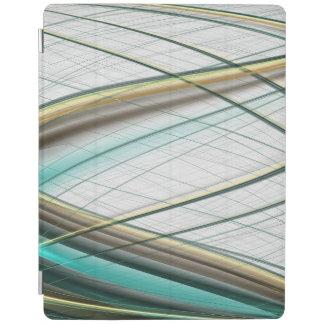 Capa Smart Para iPad Tema abstrato 1 da coleção de turquesa