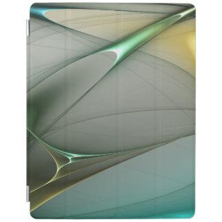 Capa Smart Para iPad Tema abstrato 2 da coleção de turquesa