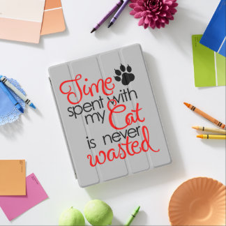 Capa Smart Para iPad Tempo com gato
