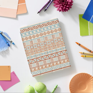 Capa Smart Para iPad Terracottas astecas do azul do creme do teste