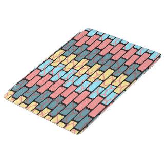 Capa Smart Para iPad Teste padrão colorido dos tijolos