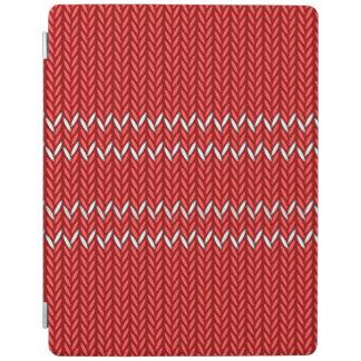 Capa Smart Para iPad Teste padrão da camisola do Natal