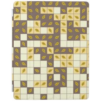 Capa Smart Para iPad Teste padrão das folhas de outono