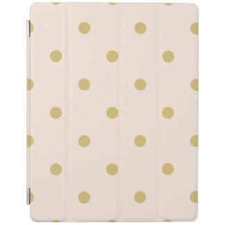 Capa Smart Para iPad Teste padrão de bolinhas feminino moderno do rosa