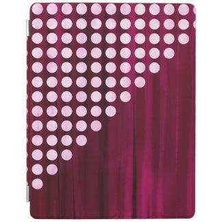 Capa Smart Para iPad Teste padrão de bolinhas pintado de veludo