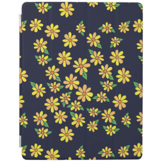 Capa Smart Para iPad Teste padrão floral da margarida