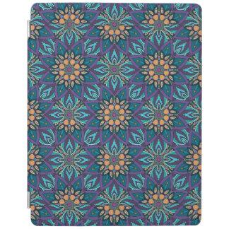 Capa Smart Para iPad Teste padrão floral do abstrato da mandala