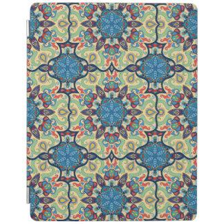 Capa Smart Para iPad Teste padrão floral étnico abstrato colorido de da