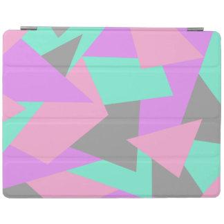 Capa Smart Para iPad teste padrão geométrico colorido do bloco elegante