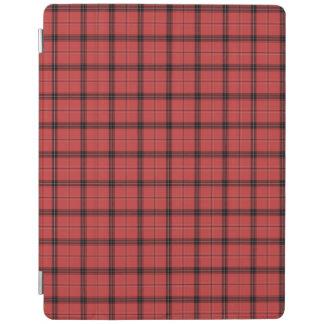 Capa Smart Para iPad Teste padrão vermelho do feriado do Natal do