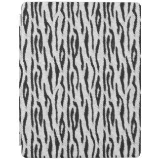 Capa Smart Para iPad Tigre branco
