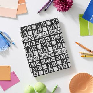 Capa Smart Para iPad Tipografia do Grunge de Bronx New York |