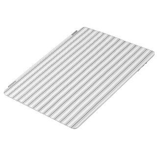 Capa Smart Para iPad Tiquetaque estreito do colchão do branco cinzento