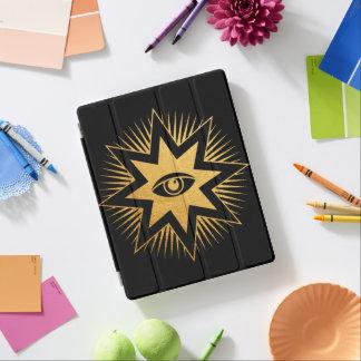 Capa Smart Para iPad Todo o caso maçónico de vista do iPad do símbolo