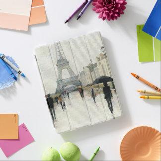 Capa Smart Para iPad Torre Eiffel   Paris na chuva