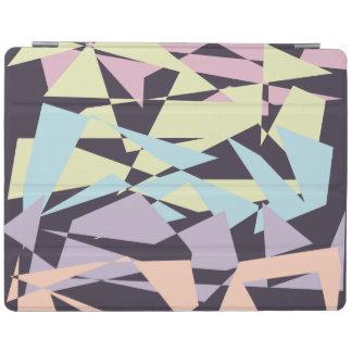 Capa Smart Para iPad triângulos geométricos do bloco elegante da cor
