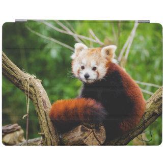 Capa Smart Para iPad Urso de panda vermelha bonito
