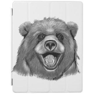 Capa Smart Para iPad Urso feliz