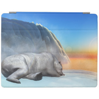 Capa Smart Para iPad Urso polar - 3D rendem