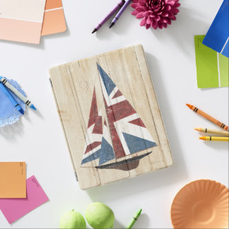 Capa Smart Para iPad Veleiro britânico da bandeira