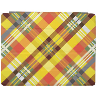 Capa Smart Para iPad Xadrez/Tartan - 'Sunflower
