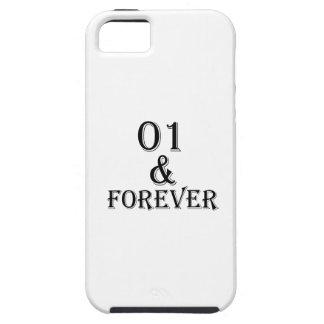 Capa Tough Para iPhone 5 01 e para sempre design do aniversário