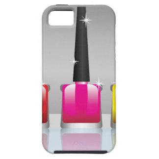Capa Tough Para iPhone 5 81Nail Bottle_rasterized polonês