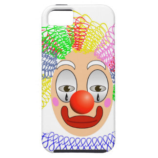 Capa Tough Para iPhone 5 97Clown Head_rasterized