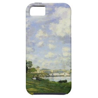 Capa Tough Para iPhone 5 A bacia em Argenteuil - Claude Monet