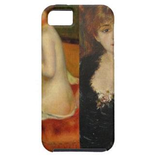 Capa Tough Para iPhone 5 A beleza e a arte podem fazer tudo