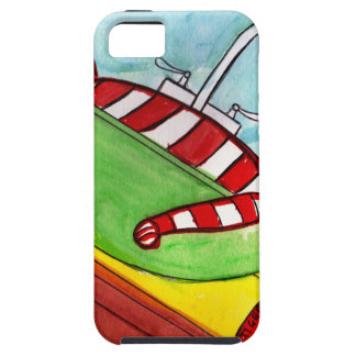 Capa Tough Para iPhone 5 A fonte do tigre