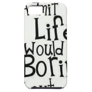 Capa Tough Para iPhone 5 Admita-o… Vida…