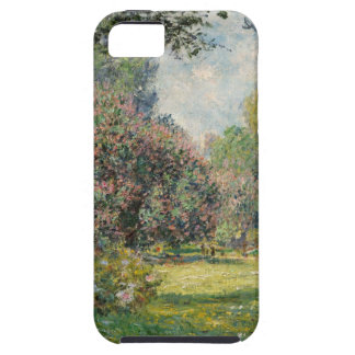 Capa Tough Para iPhone 5 Ajardine o Parc Monceau - Claude Monet