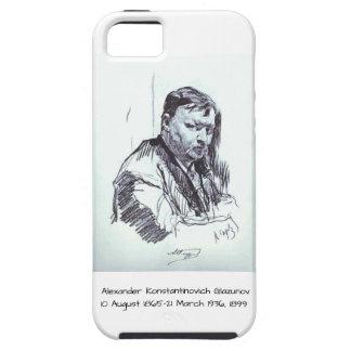 Capa Tough Para iPhone 5 Alexander Konstantinovich Glazunov 1899