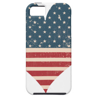 CAPA TOUGH PARA iPhone 5 AMERICAN-HEART