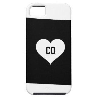 Capa Tough Para iPhone 5 Amor de Colorado