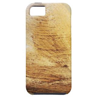 Capa Tough Para iPhone 5 Amor de madeira da madeira da flor do Hydrangea do