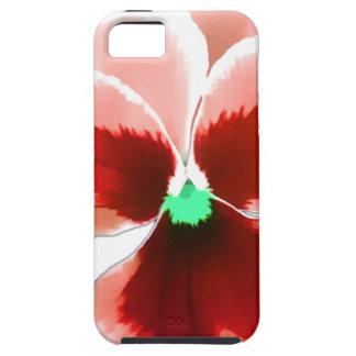 Capa Tough Para iPhone 5 Amor perfeito vermelho 201711b