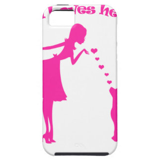 Capa Tough Para iPhone 5 amor pitty