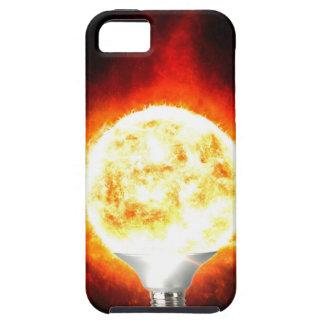 Capa Tough Para iPhone 5 Ampola de Sun