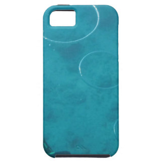 Capa Tough Para iPhone 5 Anéis subaquáticos do fumo