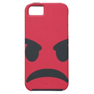 Capa Tough Para iPhone 5 Angry Emoji