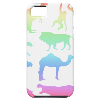 Capa Tough Para iPhone 5 Animais selvagens