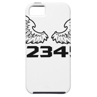 Capa Tough Para iPhone 5 anjo 1N23456