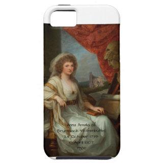Capa Tough Para iPhone 5 Anna Amalia de Brunsvique-Wolfenbuttel 1788