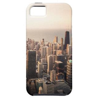 Capa Tough Para iPhone 5 Arquitectura da cidade de Chicago