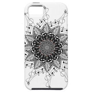 Capa Tough Para iPhone 5 Arte da mandala