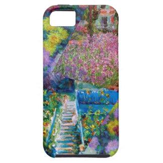 Capa Tough Para iPhone 5 As flores no jardim de Monet são originais