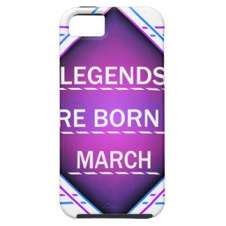 Capa Tough Para iPhone 5 As legendas são nascidas em março
