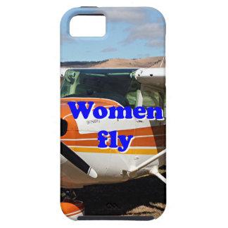 Capa Tough Para iPhone 5 As mulheres voam: aviões altos da asa